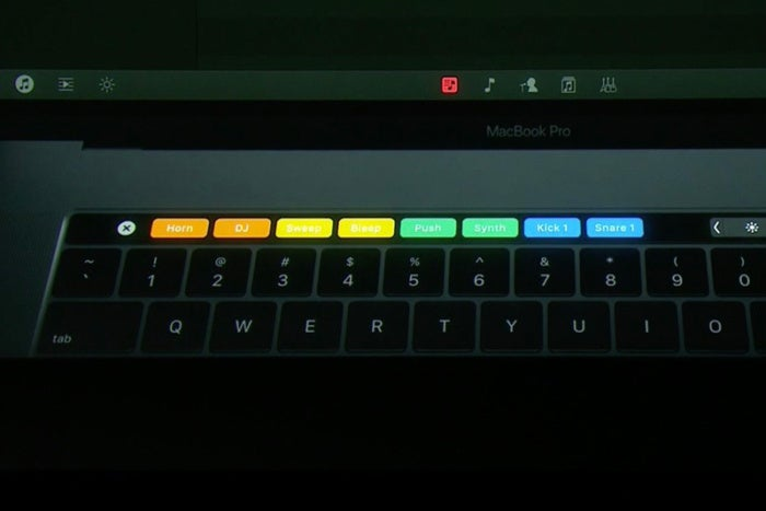 dj touchbar