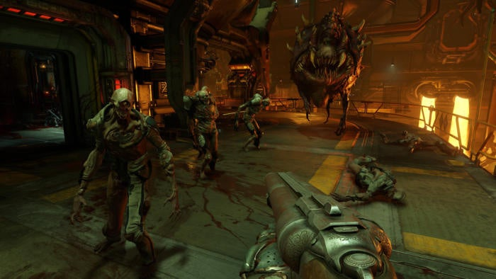 Doom's free DLC unleashes hell on hard drives as a