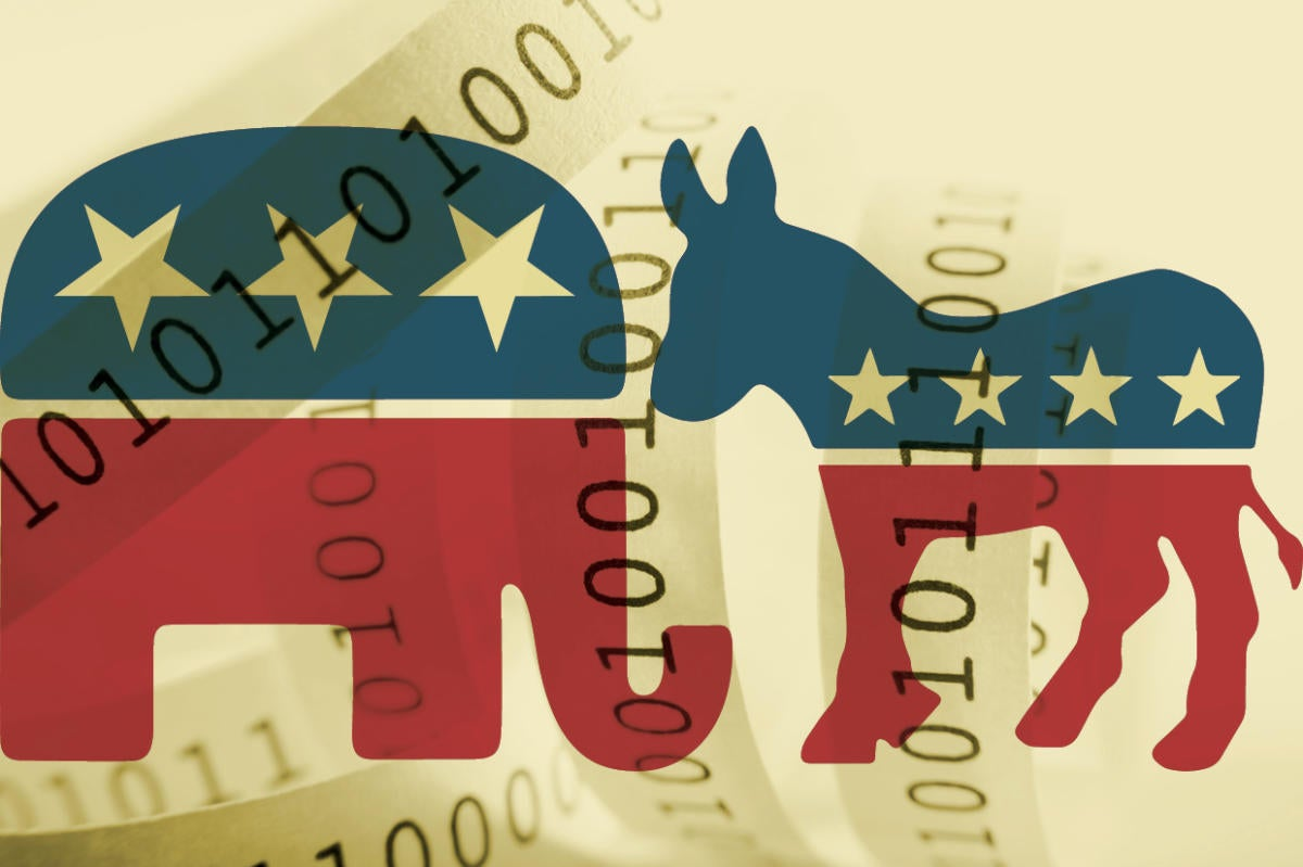 Election 2016 teaser -  Republications, Democrats in a binary world