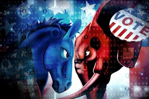 Election 2016 teaser - Republican vs Democrat