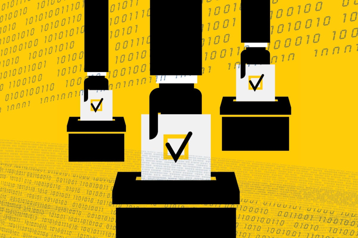 Technology confirms election ballot error is less than .001%