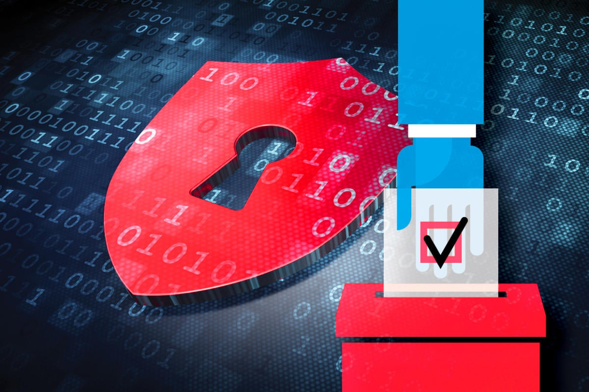 Election 2016 teaser - Electronic voting security for digital election data