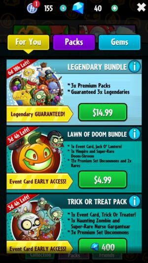 fft pvzheroes store