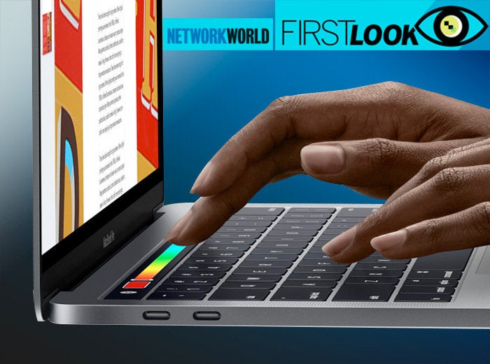 First look: Apple's new MacBook Pro lineup and more