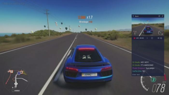 forza 3 xbl streaming