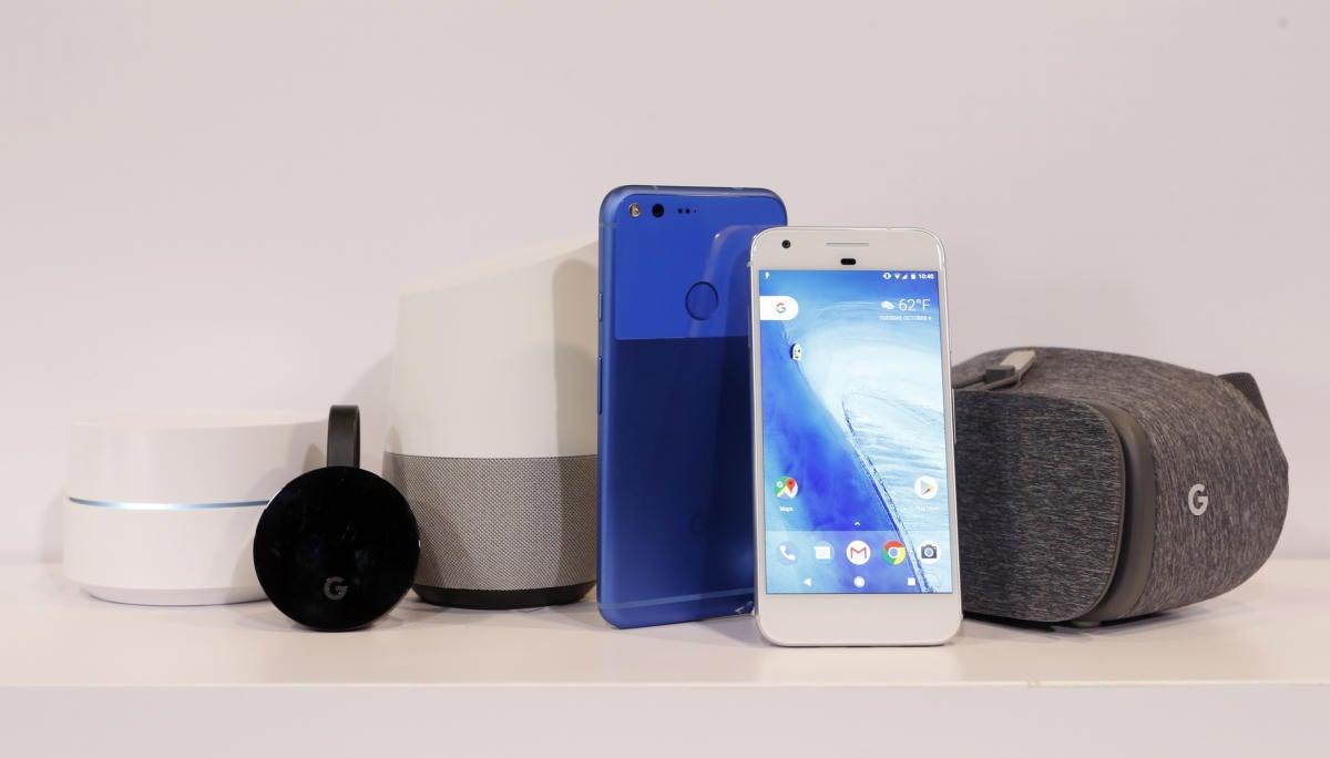 google home pixel xl vr