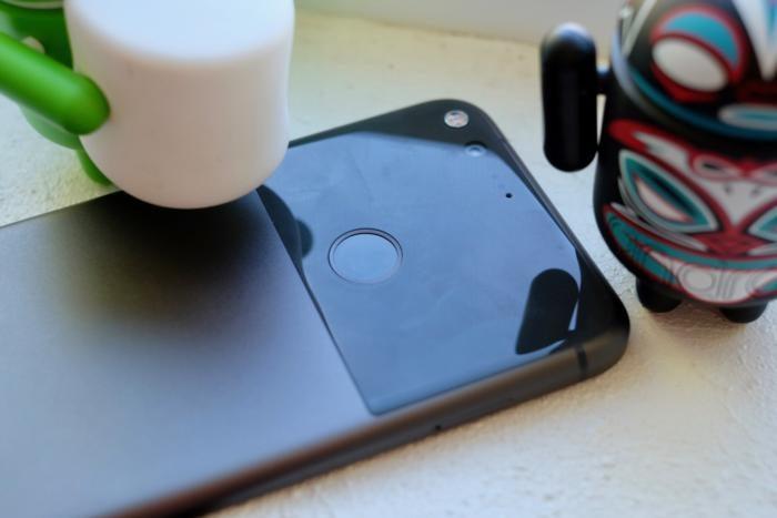 google pixel fingerprint reader
