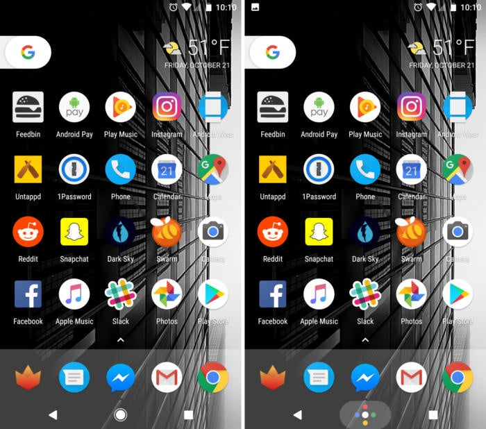 google pixel home button playful