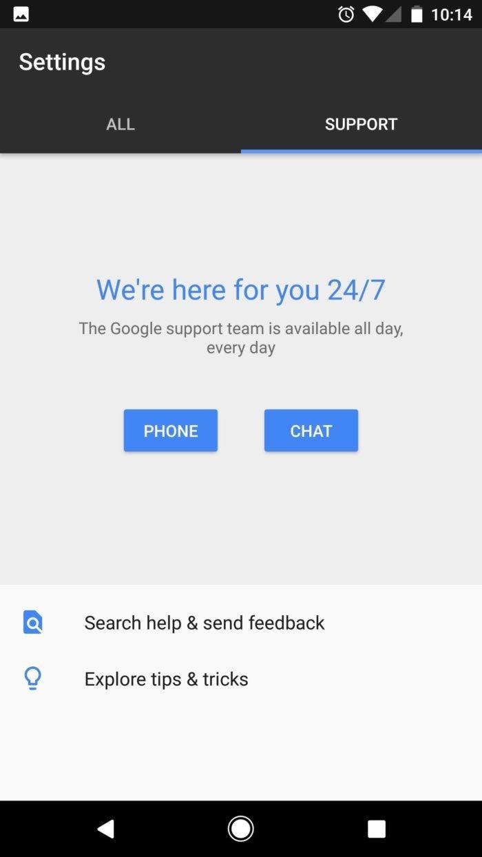 google pixel support
