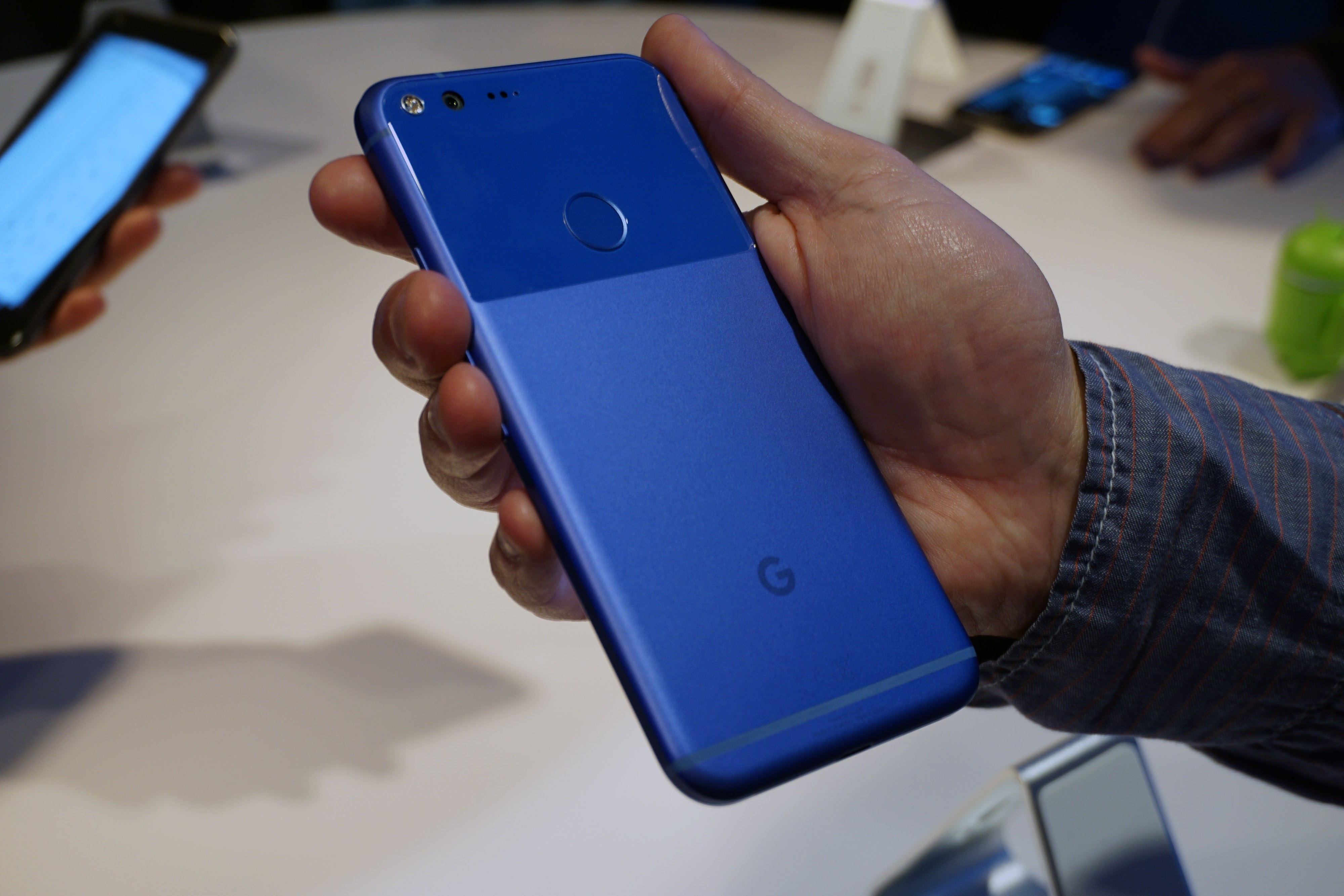 google pixel backhand