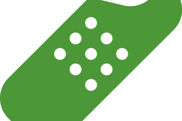 green band aid icon