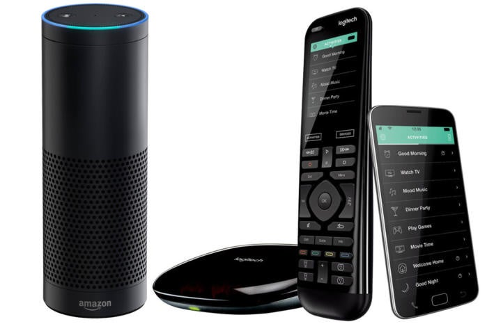 Harmony Elite with Amazon Echo