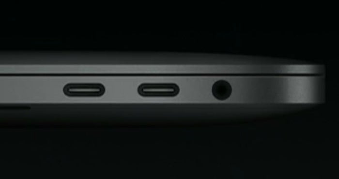 MacBook Pro headphone jack
