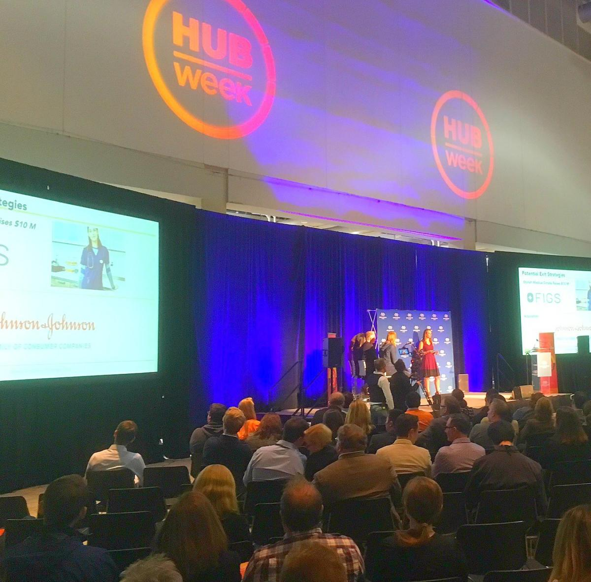 A few cool tech startups I came across at HUBweek