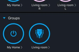 LIFX user interface