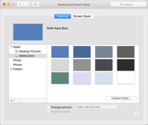 mac911 change desktop pattern