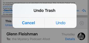 mac911 undo trash email