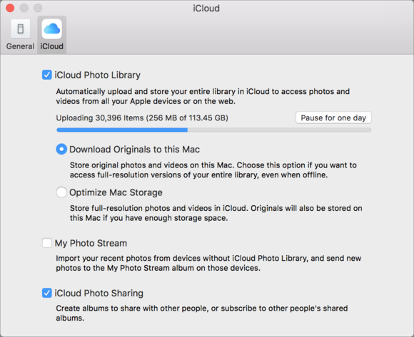 mac911 uploading icloud items