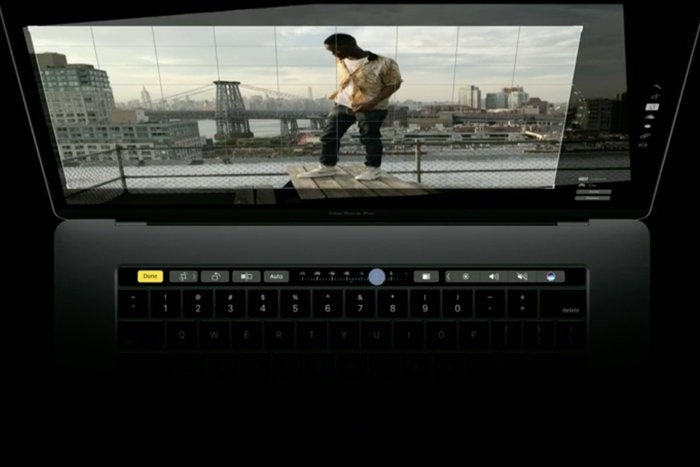 macbook pro touch bar photos