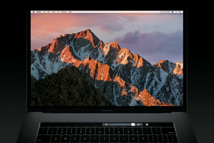 macbook pro touch bar system controls