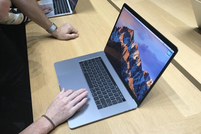 macbook pro 2016 handson finder