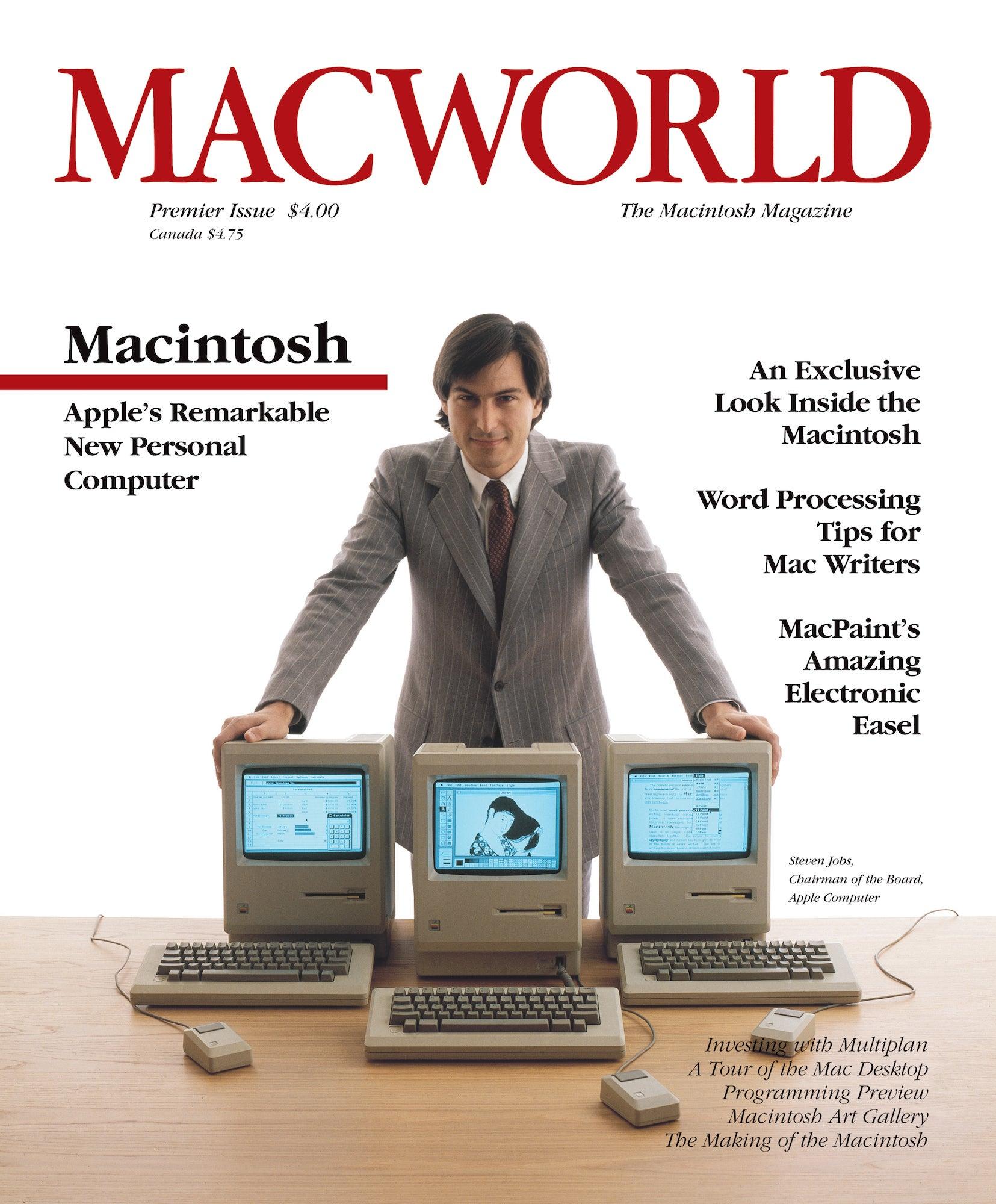 steve jobs Macworld