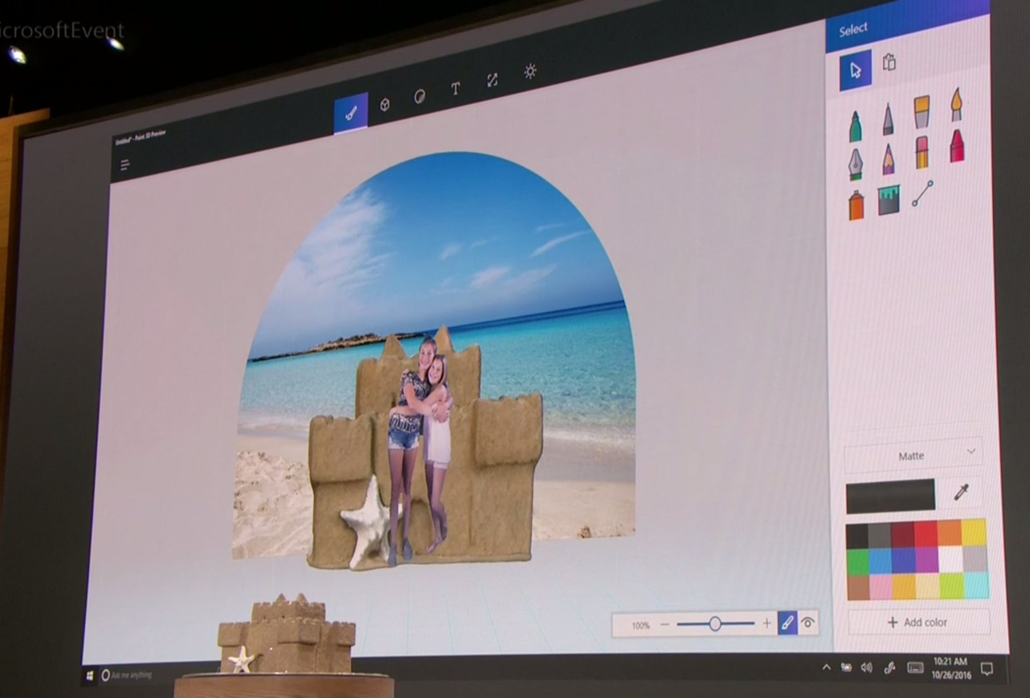 Windows 10 39 S New Paint 3d App Drags Physical Objects Into