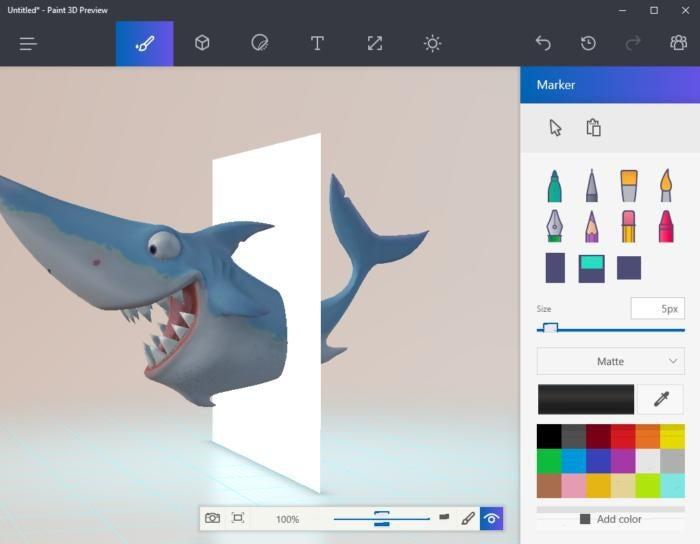 paint 3d preview