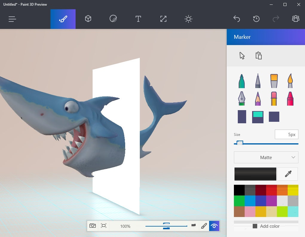A paint 3d preview is already available for windows for App that makes pictures look like paintings