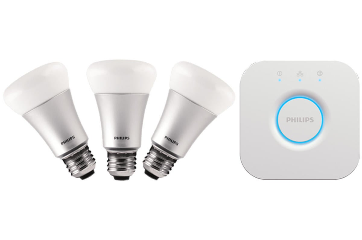 Philips hue white and color ambiance kit review the - Philips hue starter kit ...