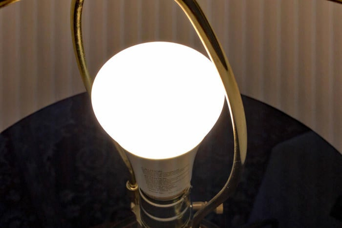 Philips Hue White Ambiance in a lamp