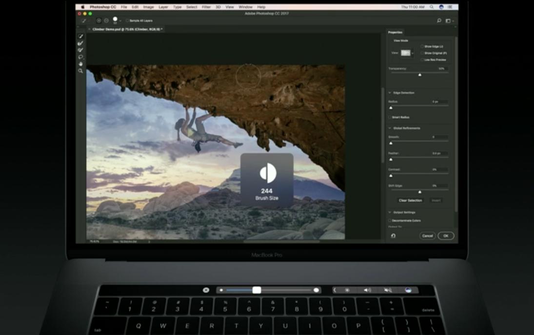 Using photoshop on mac