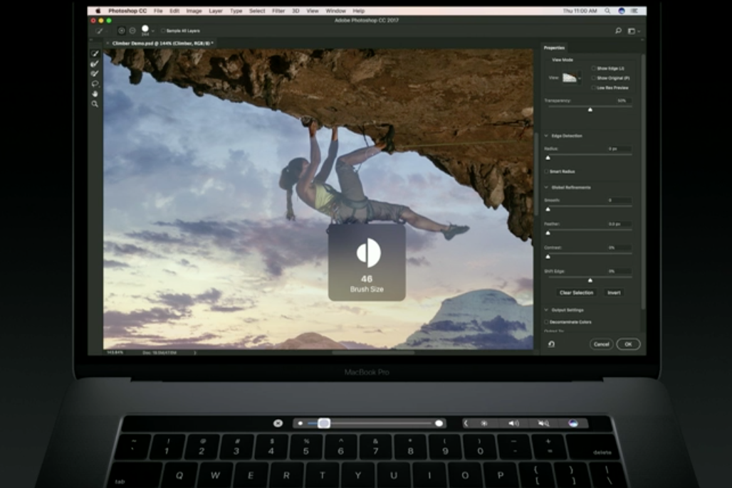 photoshop touch bar 4