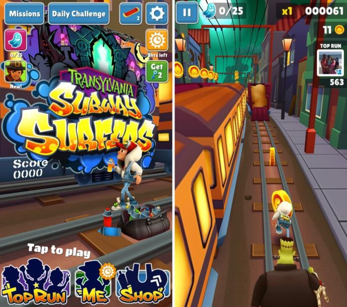 scary games subwaysurfers