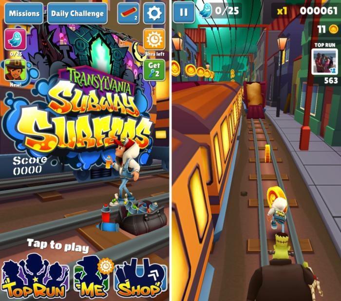 scary games subwaysurfers