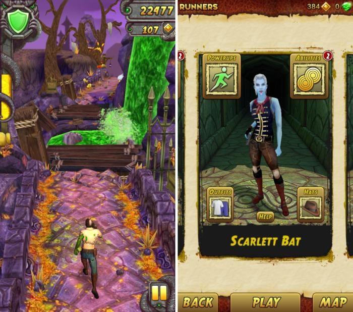 scary games templerun2