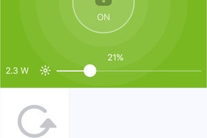 Sengled app user interface
