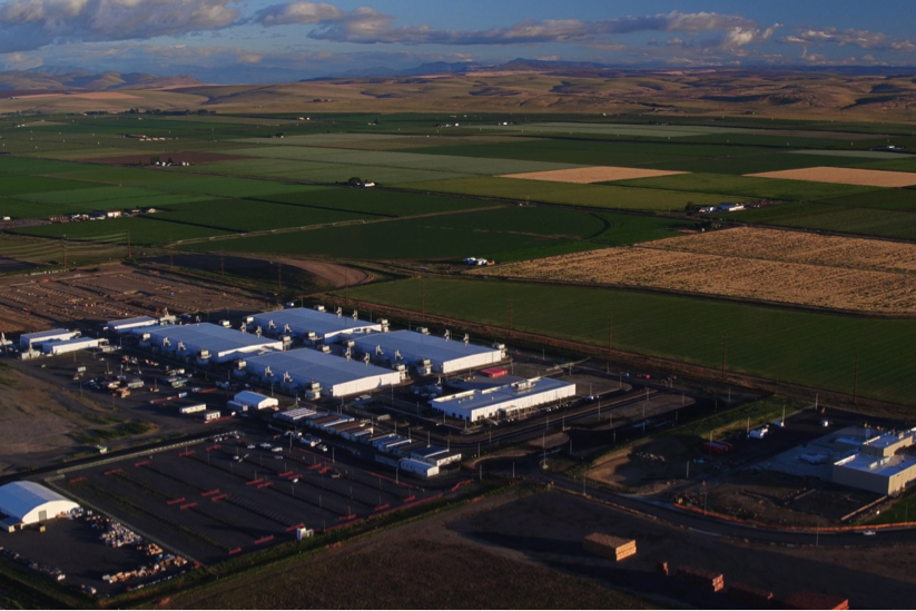 Microsoft's Quincy, Wash. data center
