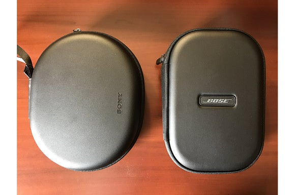 Sony and Bose cases are similar in size