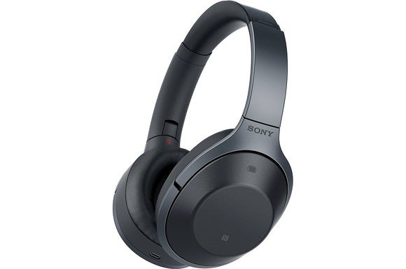 Sony's new MDR-1000X wireless noise-cancelling headphones.