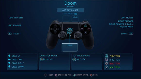 steam api dualshock