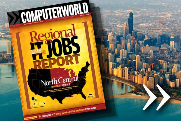 Computerworld's 2016 Regional IT Jobs Report - North Central