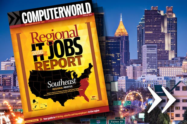 Computerworld's 2016 Regional IT Jobs Report - Southeast