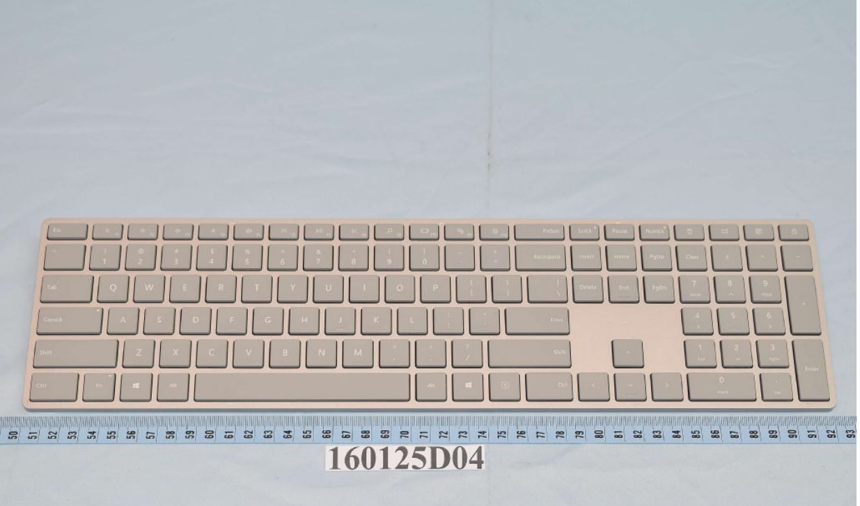 surface keyboard fcc
