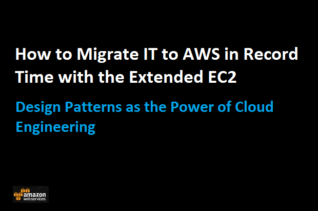 The Extended EC2 Design Pattern