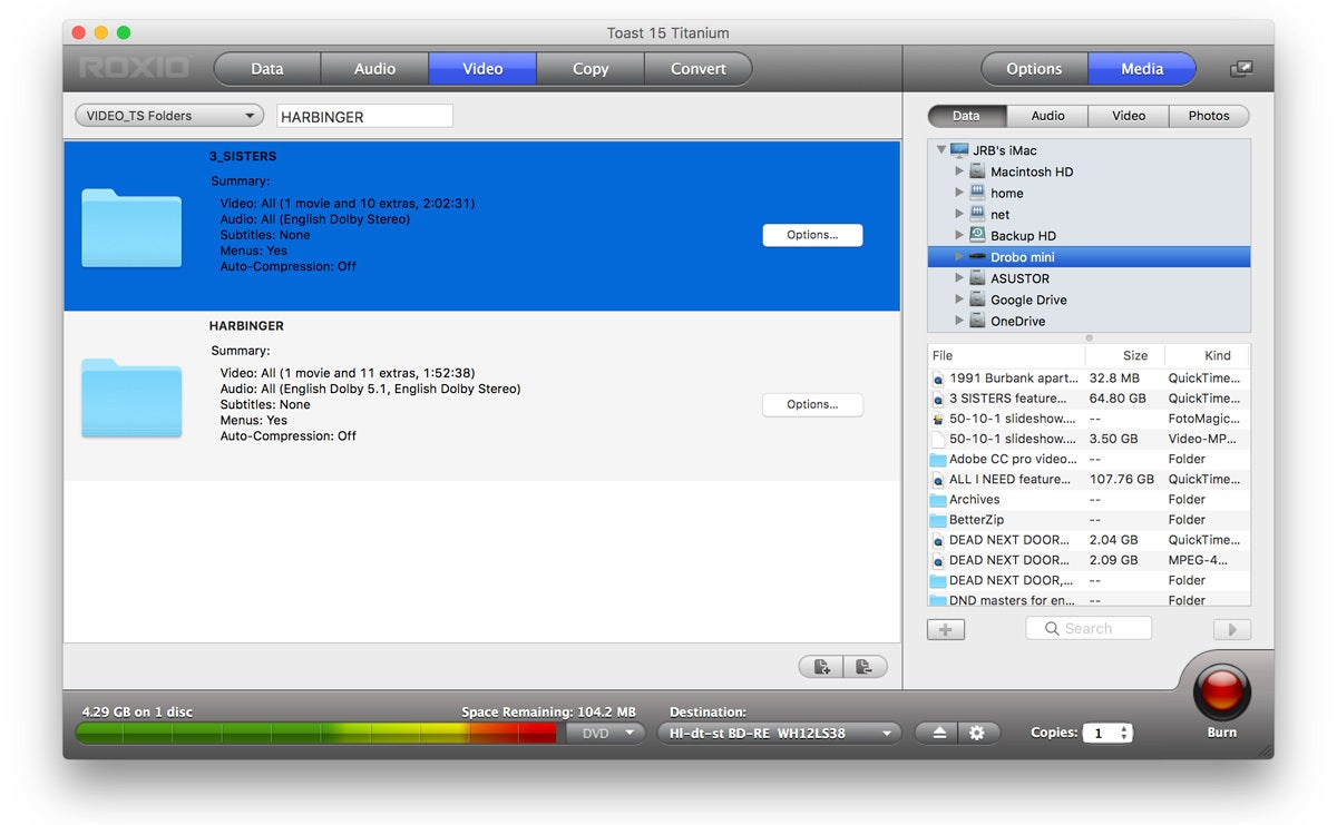 roxio toast  Roxio Toast 15 review: Mac disc burning utility remains frozen in ...