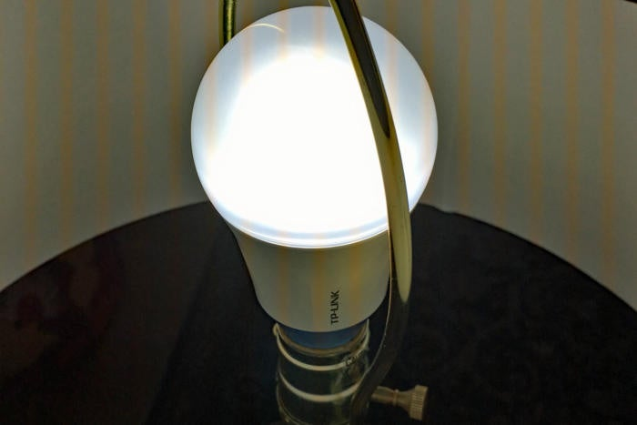 TP-Link LB120 in a lamp