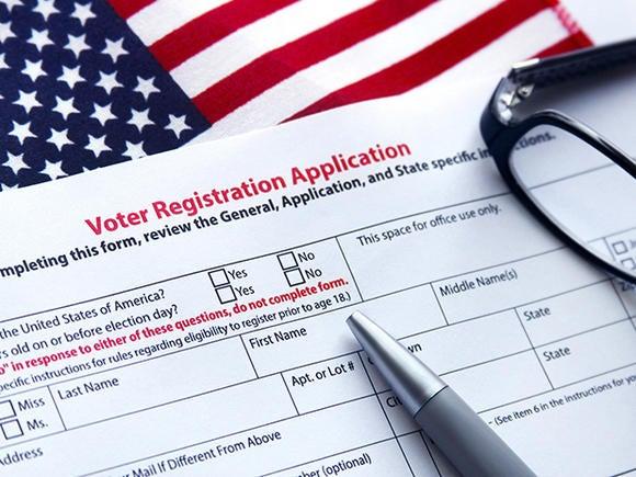voter registration application