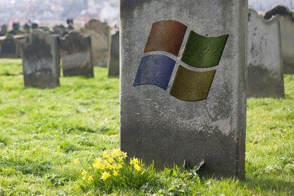 windows xp death