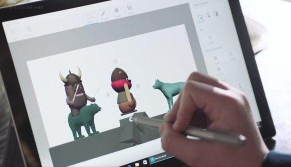 windows 10 creators update 3d paint